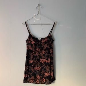Floral Wilfred tank